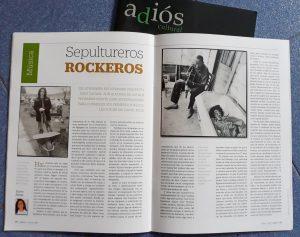 Artículo sepultureros rockeros