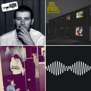 Arctic Monkeys portadas