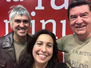 E2L Alex Cooper, Laura Pardo y Carlos Santos